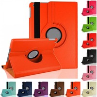 EW New 360 Rotating Leather Stand Case Cover for Apple iPad 4 3 2 Mini for iPad Air 5 6