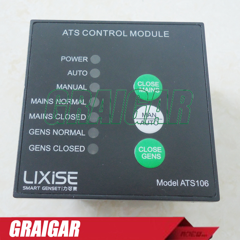 New ATS Control Module ATS106 genset control panel for diesel generator