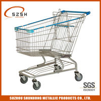general use shopping cart wagon with 1 baby seat for sale