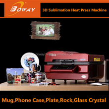 3D sublimation vacuum heat press mobile cell phone case printer