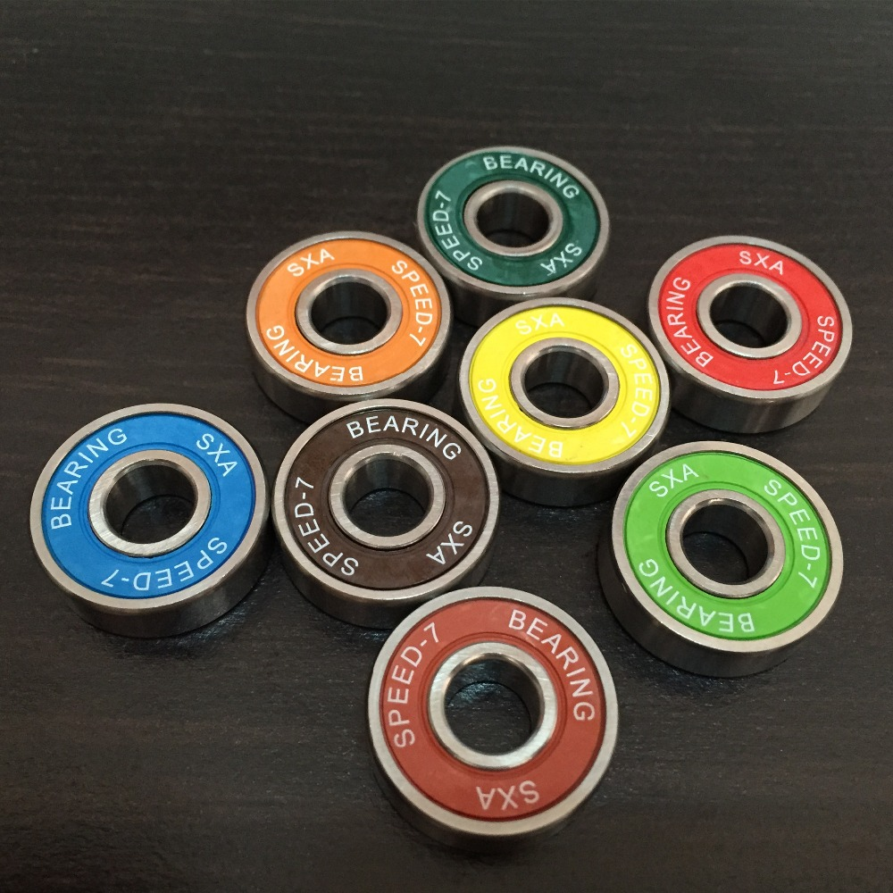 China Products low price abec 9 skateboard <strong>bearings</strong> zz 608 rubber coated ball <strong>bearing</strong>