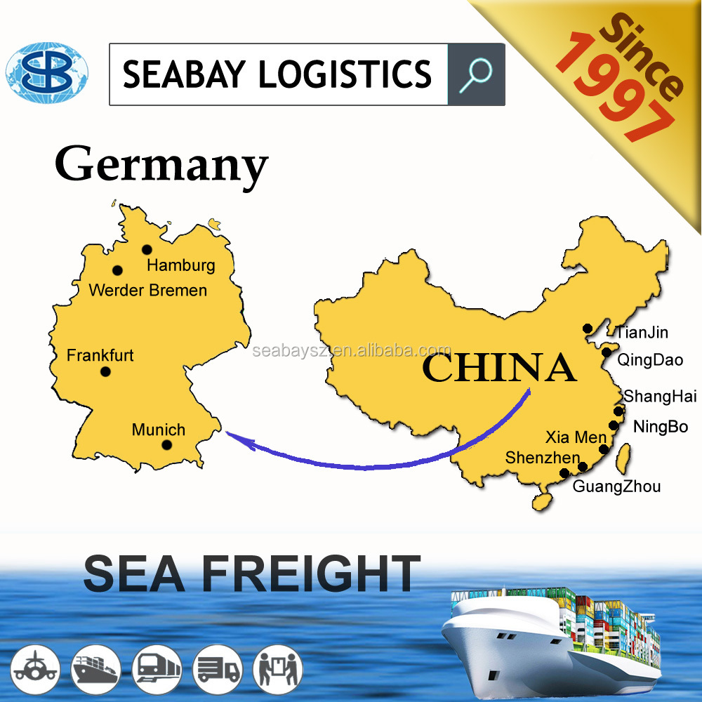 Cheap Shipping Freight Forwarding Costs from Guangzhou to Hamburg