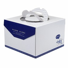 cheap decorative gift packaging wedding favor cake boxes