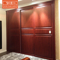 Luxury laminated guangzhou bedroom cupboards design of wooden wardrobe