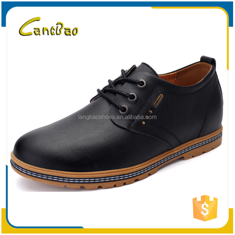 factory cheap men leather dress genuine leather shoes