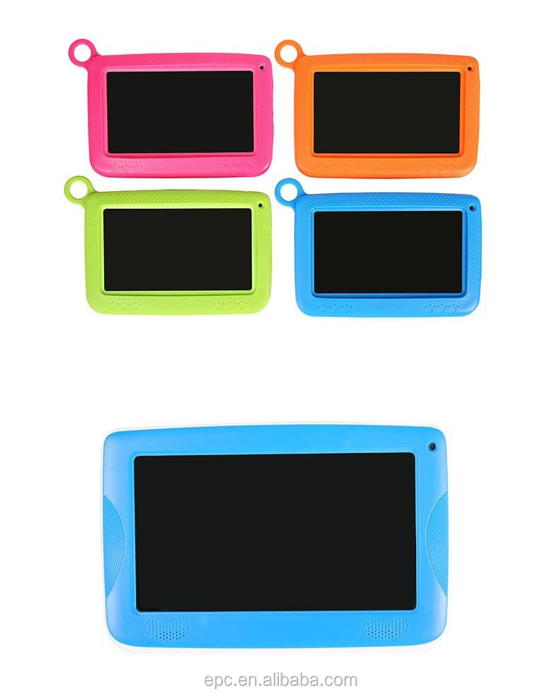 7 Inch RK3126 Newest Android 4.4 Tablet MID Quad Core Camera 8GB Children Kids Tablet