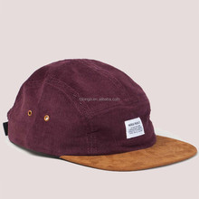 new arrival custom woven patch 5 panel baby hat snapback cap