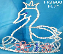 bridal head piece bridal tiara and corwn rainbow tiara toy golden crown