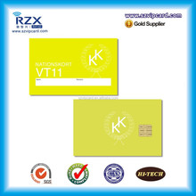 Hot SALE Custom printing SLE4442 Contact Hotel Access control key Card for door lock