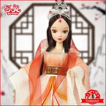 New arrival Chinese plastic princess toy doll