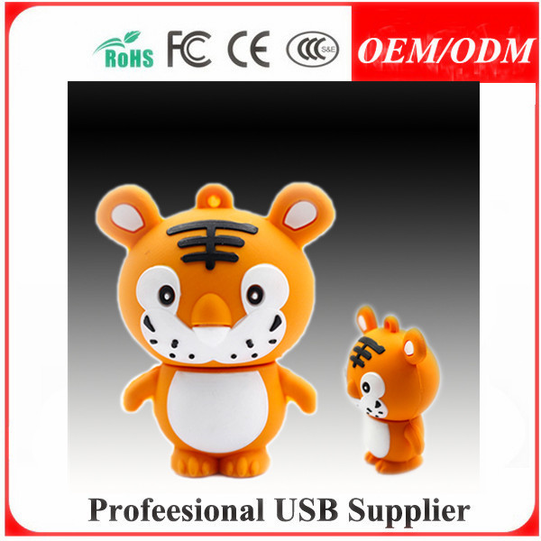 Custom-Made USB gift,customized shape pvc usb flash drive.promotion gift for Korea