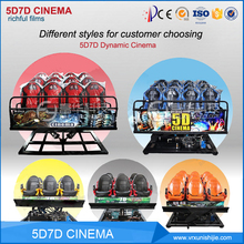 Factory Theater Virtual Reality Chair Game Machine Equipment Cinema System Mobile Simulator 5d Movie