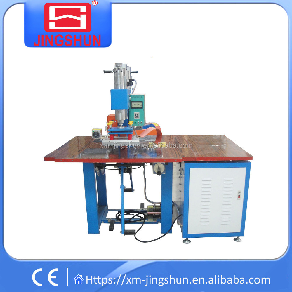 High frequency hot air plastic welding machine for file bags