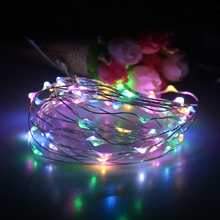 Cheap price birthday party decorative color changing copper wire vintage CE RohS certified Christmas led string light