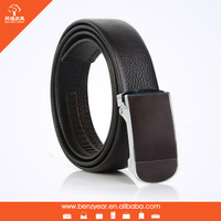 Newly personalized design men's leather automatic buckle belt