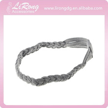 Contracted classic braided hair band, high elastic sport headband