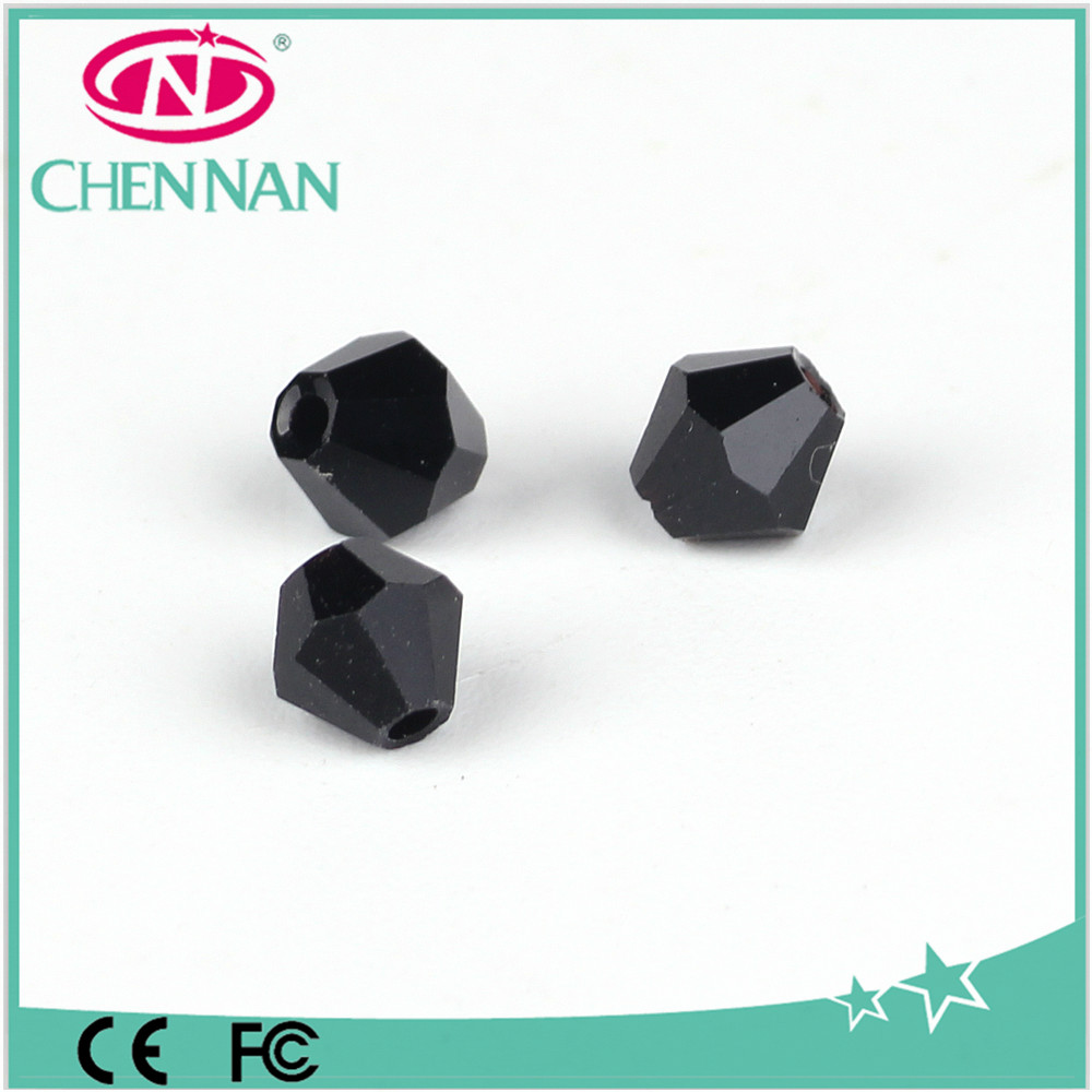 Double cone shape bicone Beads Necklace Earring Making beads Crystal Beads
