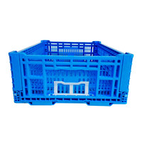 New Large Capacity 150KG Plastic Crate for Fruit and Vegetables