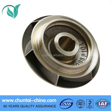 CNC machining parts stainless steel water pump brass impeller