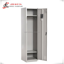 Metal Furniture Changing Room KD Structure Single Door Steel Locker