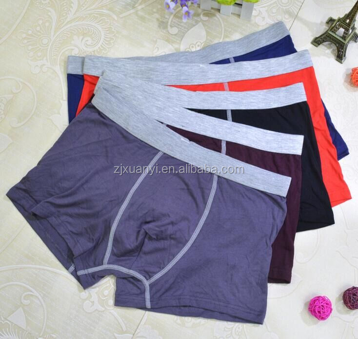 High Quality Man Sexy Boxers Antibacterial Fitness Man Underwear Fashion Health Care Man Underwear