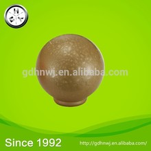 Factory Price Single Hole Round Knobs Furniture Leather Handle for Cabinet