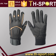Black cabretta Golf Gloves