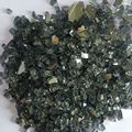 Clear tempered fire glass chips for garden