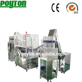 Modern new arrival safety auto-destroy syringe assembly machine