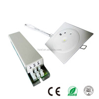 Emergency Backup Battery with Electro-Galvanized Steel Casing Ceiling Recessed Mounted Led Down Light
