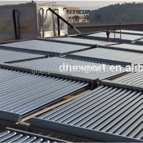 Horizontal type Double side vacuum tube solar collector