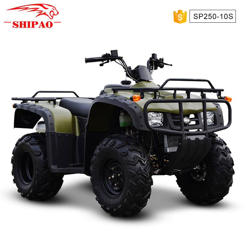 SP250-10 Shipao the power of speed atv 4x4 quad