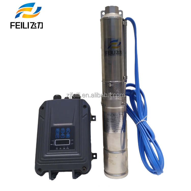solar centrifugal pumps bore submersible deep well solar water 24 volt 48v submersible dc solar water pump