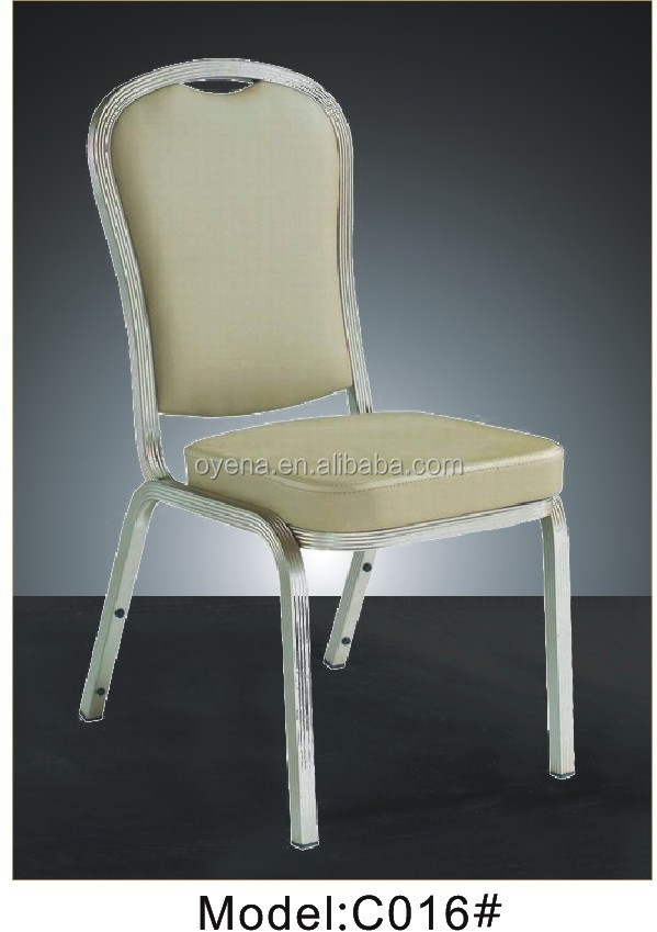 Steel Metal Type aluminum banquet chair
