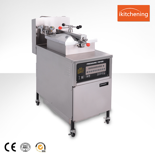 PFG-600 Ikitchening Gas Chicken Frying Machine, deep fryer friteuse, gas fryer For Fried French Fries