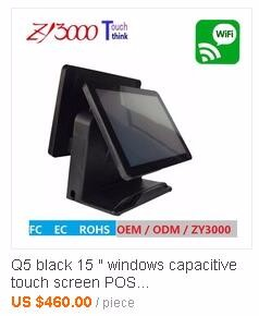 Capacitive dual pos machine price lcd touch screen pos