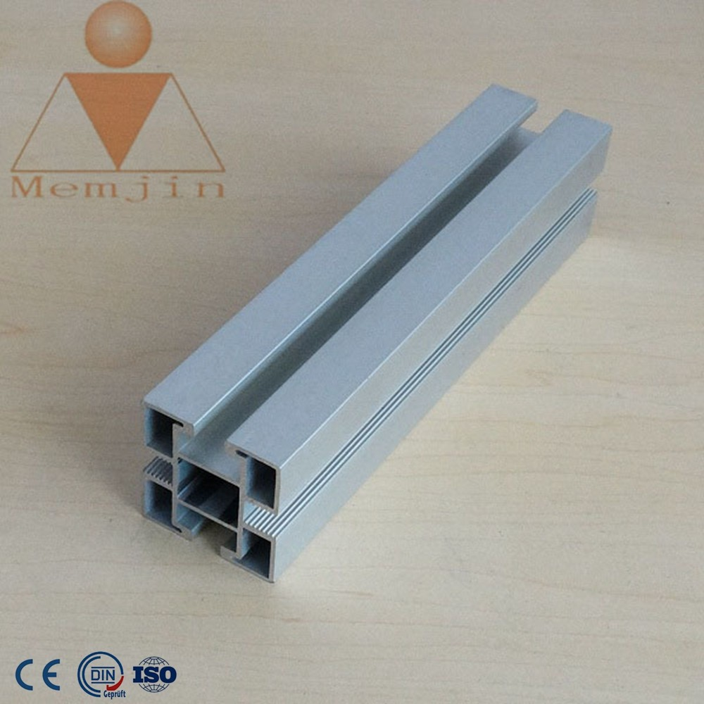 anodizied aluminium profiles custom t slot aluminum extrusions, industrial aluminum profile for CNC table assembly line