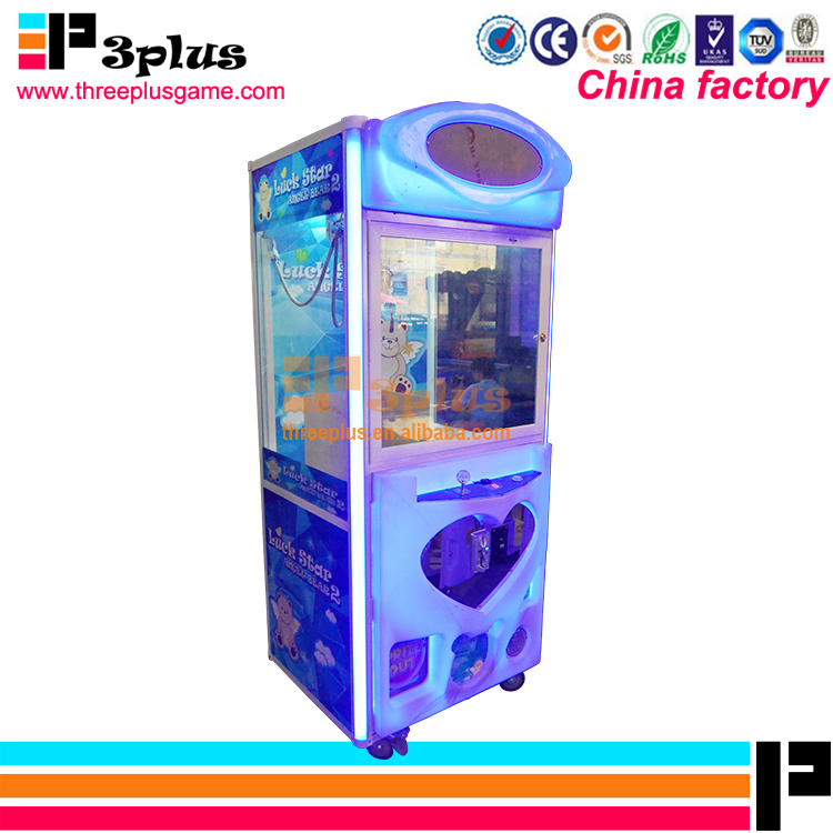 Amusement fairground arcade games coin operated prize toy crane machine games