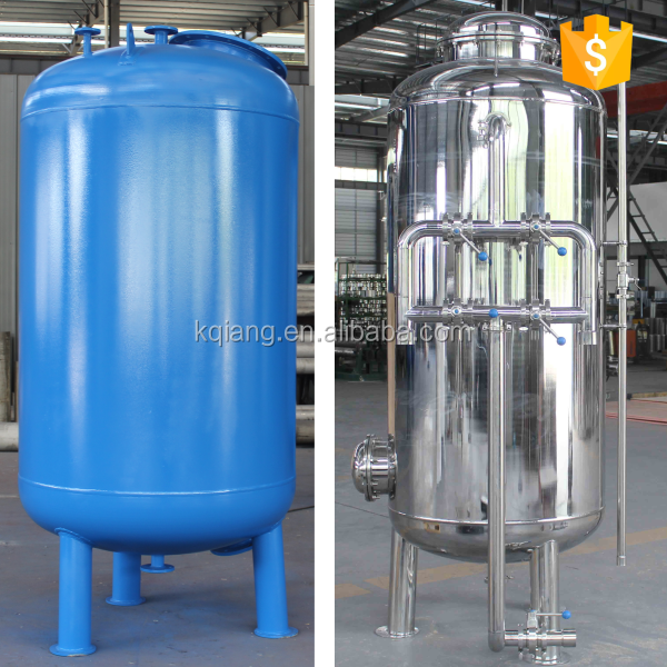 Industrial Activated Carbon / Quartz Sand Water Filter