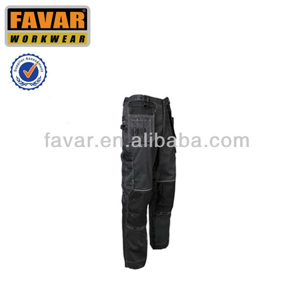Highly durable premium quality polycotton men's work trousers knee pad