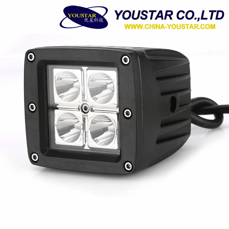 Auto 12w 12v 24v off road mini 12w auto headlamp led