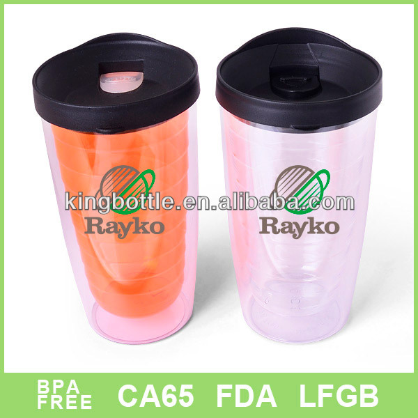 16oz clear plastic cups with lid for ice coke