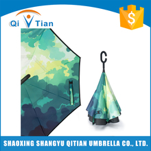 Top Quality Wholesale Colorful Big Straight Umbrella