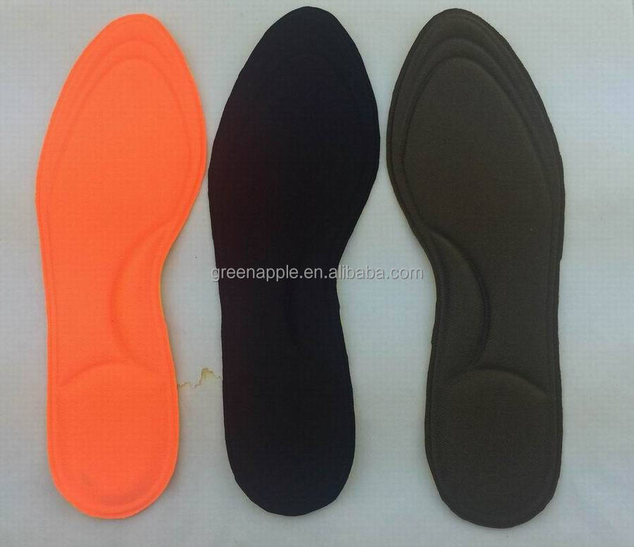 Ultra Thin Memory Foam with Gel cushion Inners Fragrance PU Insole