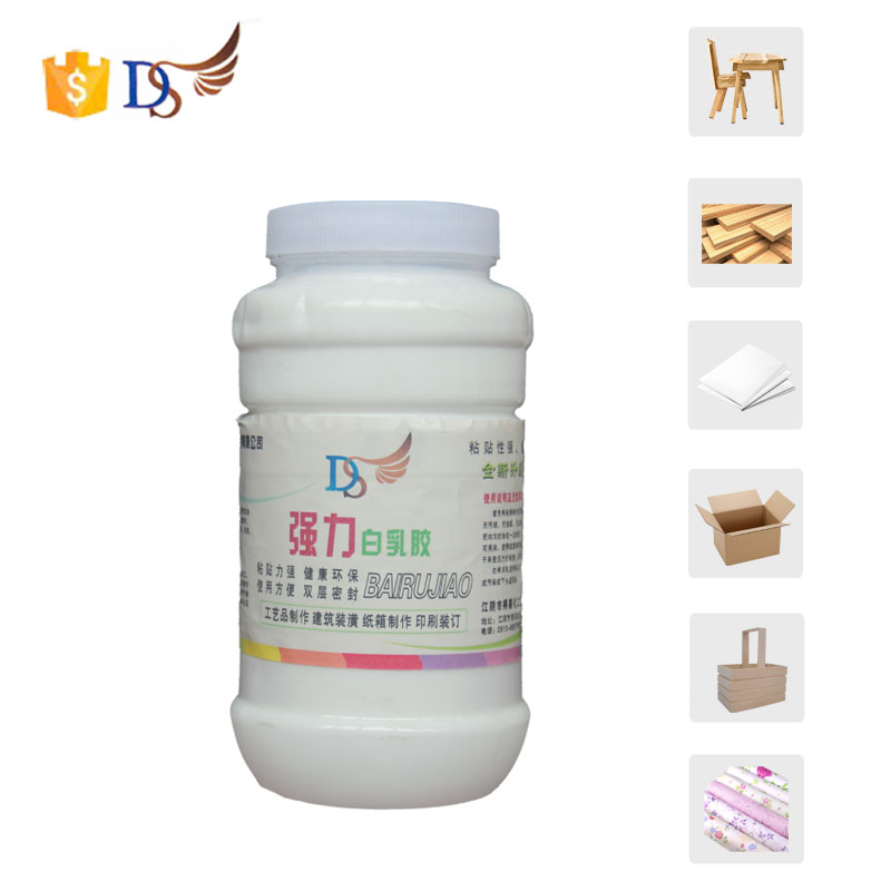 Water Base Wood White Polyvinyl Acetate Emulsion Glue