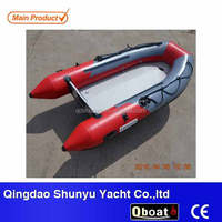 CE korea pvc air mat floor folding cheap Inflatable boat
