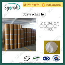 Factory supply pharma raw material powder doxycycline hcl