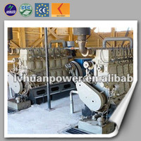 combined heat and power high efficient CE ISO green power natural gas electric plant chp gas generator