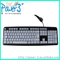 Laptop keyboard arabic typewriter with adjustable stand