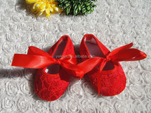 Wholesale fall baby Girl Shoes Bow Lace Sweet Kids First Walker Shoes For Children shoes for alibaba supplier